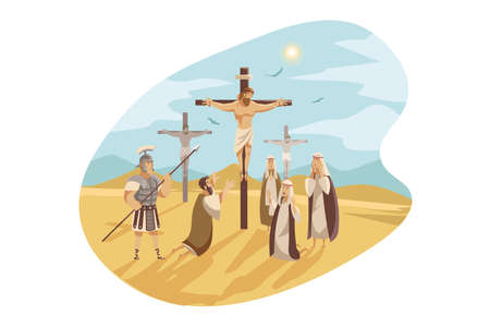 Crucifixion of Christ, Bible concept