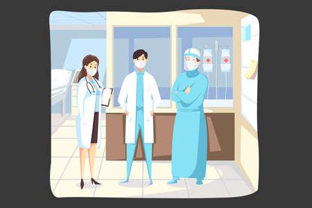 Medicine, protection, healthcare, coronavirus concept