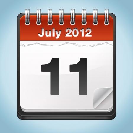 Calendar Stock Vector - 16747808