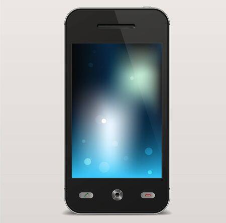 Vector Realistic Smartphone Stock Vector - 16855816