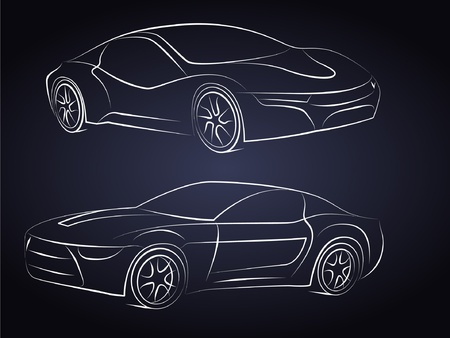 drift: Vector Car Silhouettes