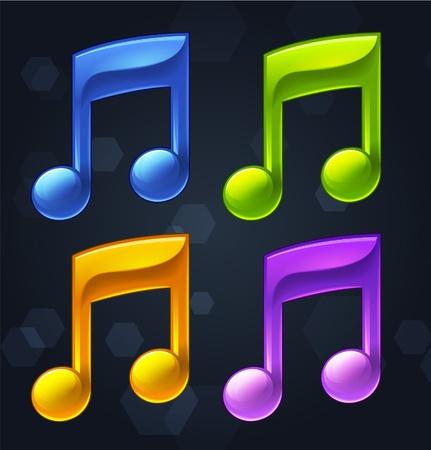 Musical Notes Stock Vector - 16872850