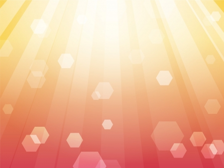 Pink Sunshine Background Stock Vector - 16872830