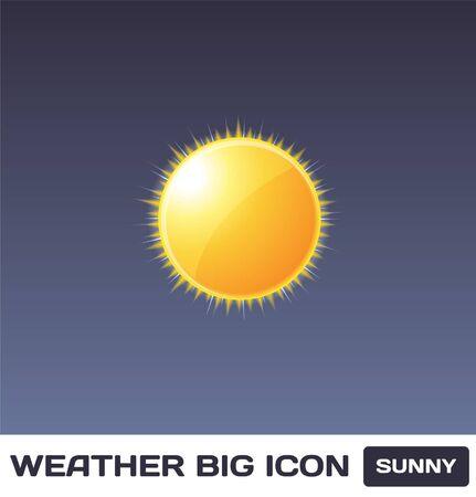 Sunny Icon Stock Vector - 16872912