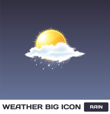 Rain Icon Stock Vector - 16872946
