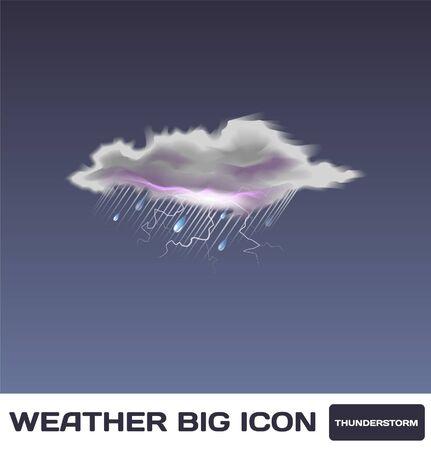 Thunderstorm Icon Stock Vector - 16872958