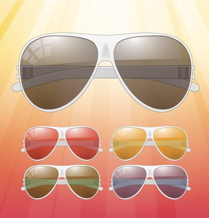 Sunglasses   Icons Stock Vector - 17315480