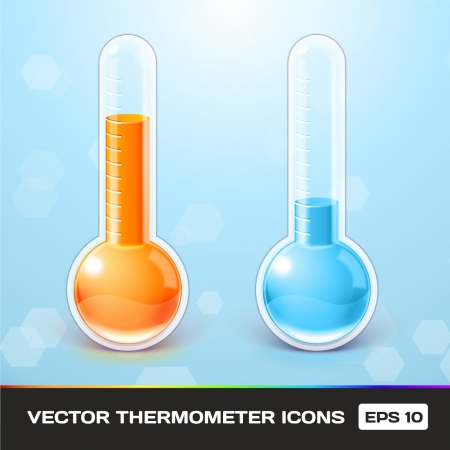 Thermometer Icons Stock Vector - 17315492