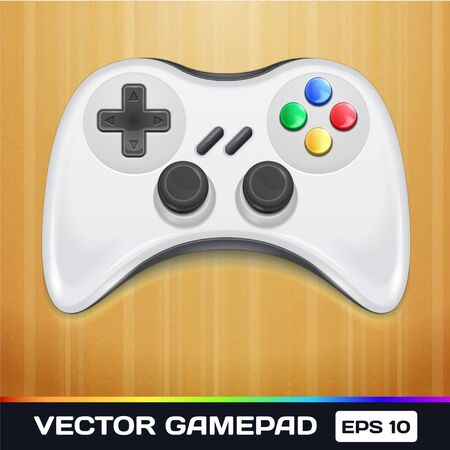 game pad: Game Controller Icon Illustration