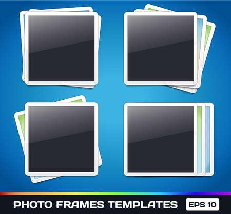 Template:   Frames Gallery Stock Vector - 17315505