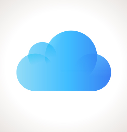 Vector Cloud Computing Icon Vector