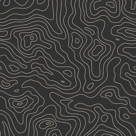topografia: Mapa Topográfico Modelo inconsútil. Vector de fondo Vectores