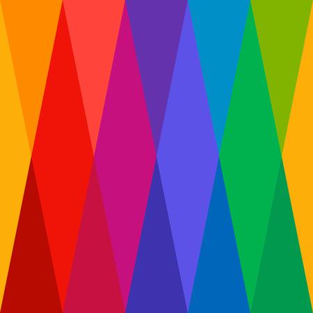 arlecchino: Harlequin Pattern Seamless colorato Vettoriali