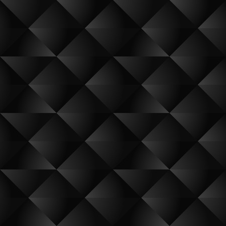 Black Geometric Seamless Pattern Illustration