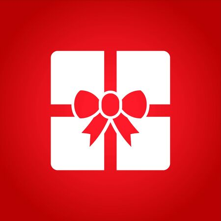 to present: Vector Gift Box Icon