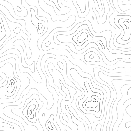 Topografische Kaart Naadloze Patroon. Vector Achtergrond Stock Illustratie