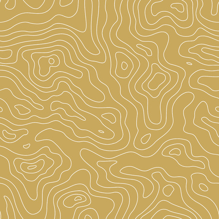 topographic: Topographic Map Seamless Pattern. Vector Background