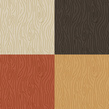 wood grain: Seamless Wood Texture. repeatable wood grain background Illustration