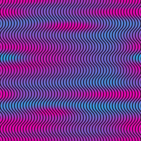 Seamless Minimal Geometric Pattern. Abstract vector background with vivid colors. Graphic design for web, print, textile, wrapping and decoration Ilustracja