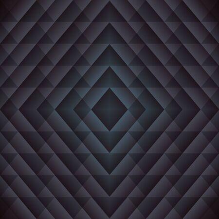 Trendy Triangle Semless Pattern. Vector dark geometric background