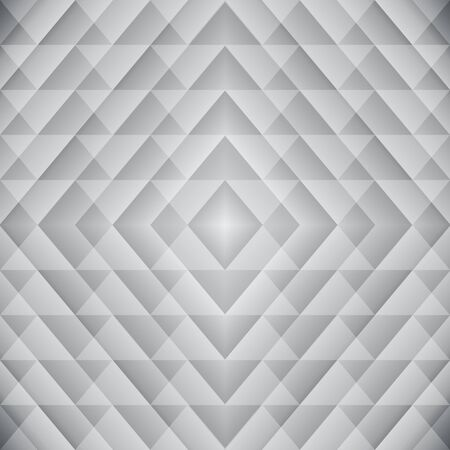Trendy Triangle Semless Pattern. Vector light geometric background Ilustracja