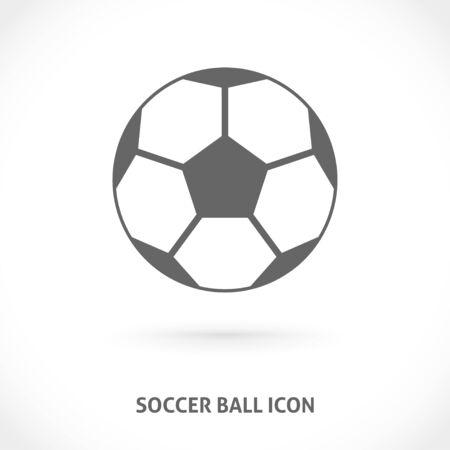 centered: Soccer ball icon. Symmetry centered vector illustration icon. Illustration