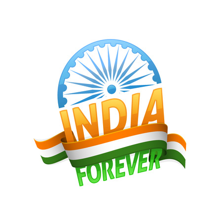 democracy: India independence day. Patriotic holiday of freedom and democracy.