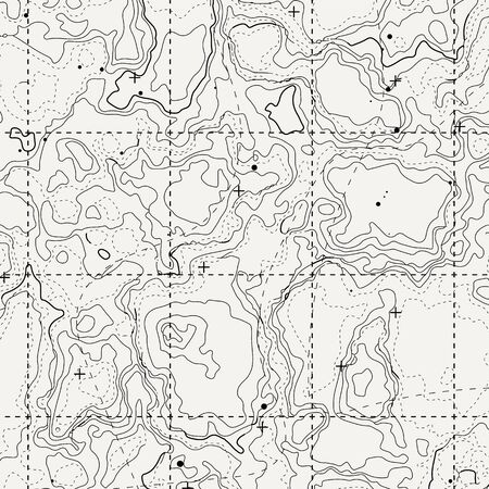 Abstract topographic map. Topo contour map background concept. Vector illustration 向量圖像