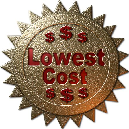 declaring: golden seal declaring Lowest Cost Stock Photo