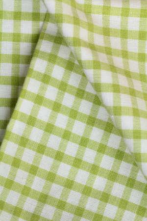 vert torchon à carreaux pour le fond