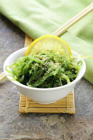 Salade d'algues Chuka traditionnelle japonaise Banque d'images
