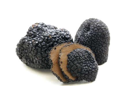 delicatesse paddestoel zwarte truffel - zeldzaam en duur plantaardige