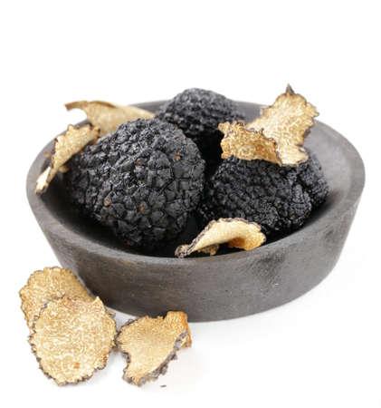 Cher rare truffe noire champignons - légumes gastronomique Banque d'images - 32102395