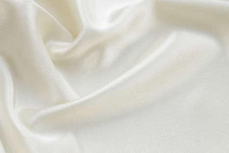 絹織物高級ベージュ、クリーム色の背景