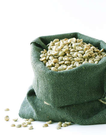 antioxidant: green coffee beans, antioxidant and healthy food