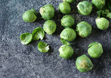 organic brussels sprouts for healthy food Banque d'images - 118459856