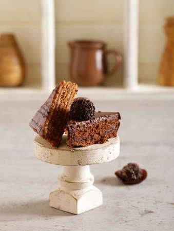super chocolate cakes, assorted brownie Zdjęcie Seryjne