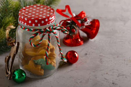 christmas gingerbread cookies for holiday
