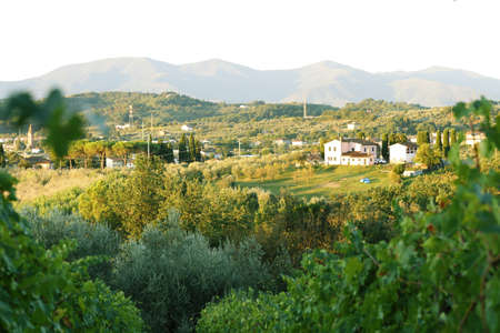Italian landscapes, architecture and gardens beautiful views Imagens