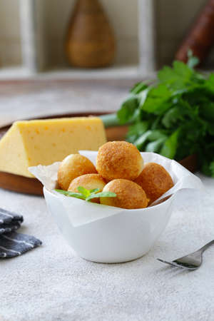 fried cheese balls for snacks
