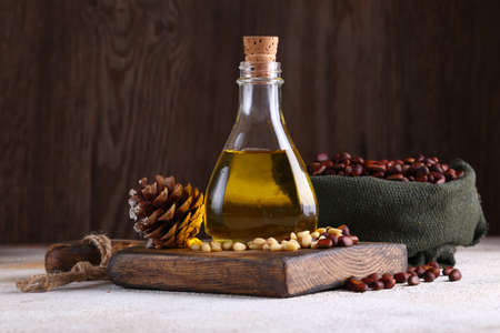 natural cedar nut oil for a healthy diet