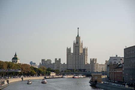 High-rise on kotelnicheskaya Quay.