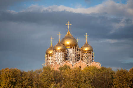 The Uspensky Cathedral of Yaroslavl