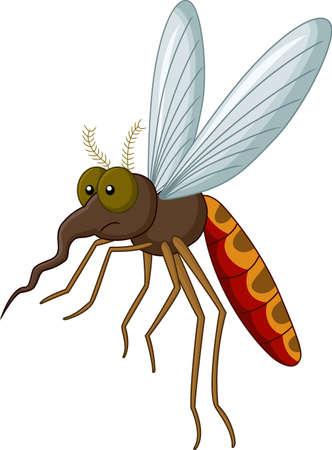 prick: mosquito cartoon