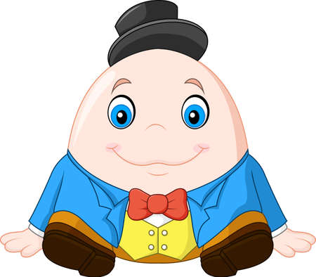 Humpty Dumpty Cartoon