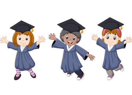 celebration: Cartoon Graduation Celebration