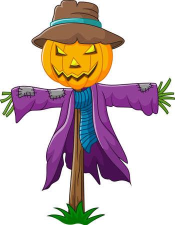 glee: Cartoon scarecrow character