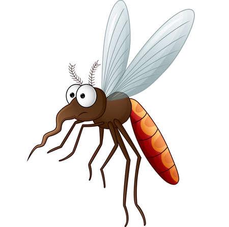 蚊漫画  イラスト・ベクター素材