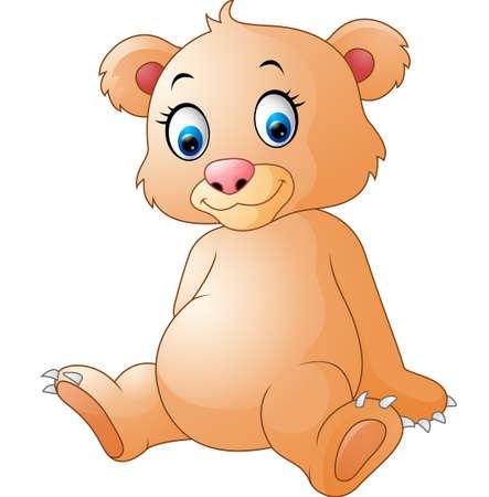 cute bear: Cute bear cartoon Illustration