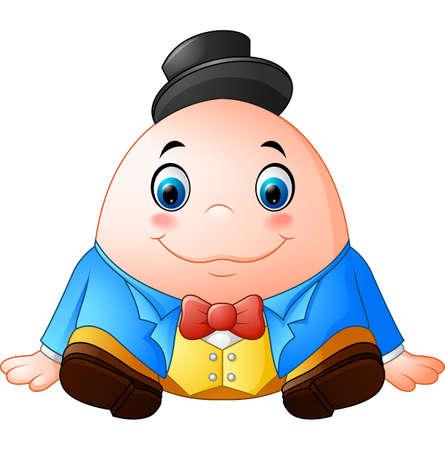 Humpty Dumpty Cartoon